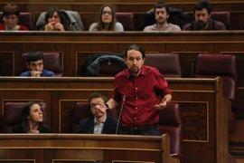 "Iglesias dice que le ""avergüenza"" que Forcadell sea juzgada ""por permitir una votación que convoca un referéndum"""