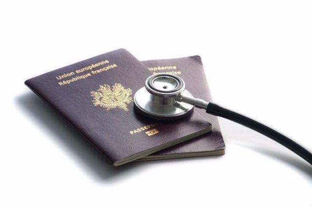 Pasaportes de médicos
