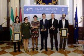 Matías Prats recoge el Premio de Periodismo Ciudad de Málaga por su trayectoria