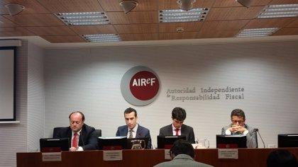 La AIReF empeora su previsión y advierte de que la deuda pública no bajará al 60% del PIB hasta 2039