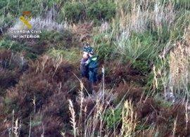 Guardia Civil localiza con vida a una persona desaparecida desde el martes