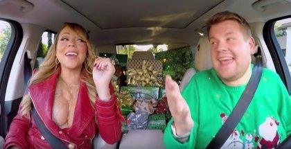 Mariah Carey, Lady Gaga, Selena Gómez o Adele en el 'Carpool Karaoke' navideño de James Corden