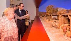 La Diputación de Valladolid expone su Belén Bíblico Monumental y promociona los 'vivientes' y actividades en pueblos