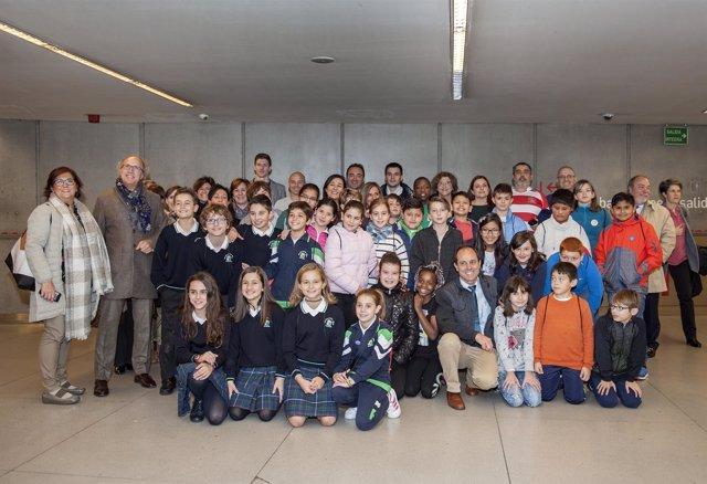 Niños participantes en el proyecto LISA