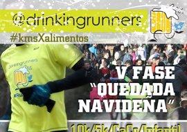 Higuero, padrino de Quedada Navideña este domingo de Drinking Runners en la Casa de Campo