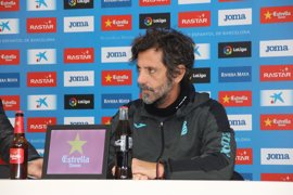 """Quique Sánchez Flores: """"No tenemos miedo al Barça"""""""