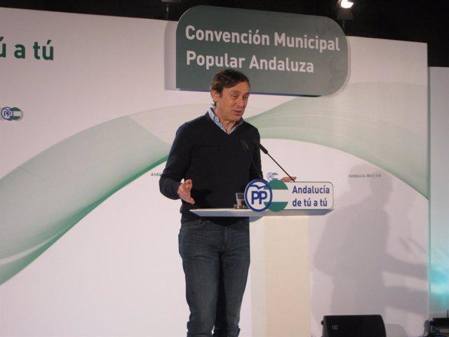 El portavoz del PP en el Congreso, Rafael Hernando