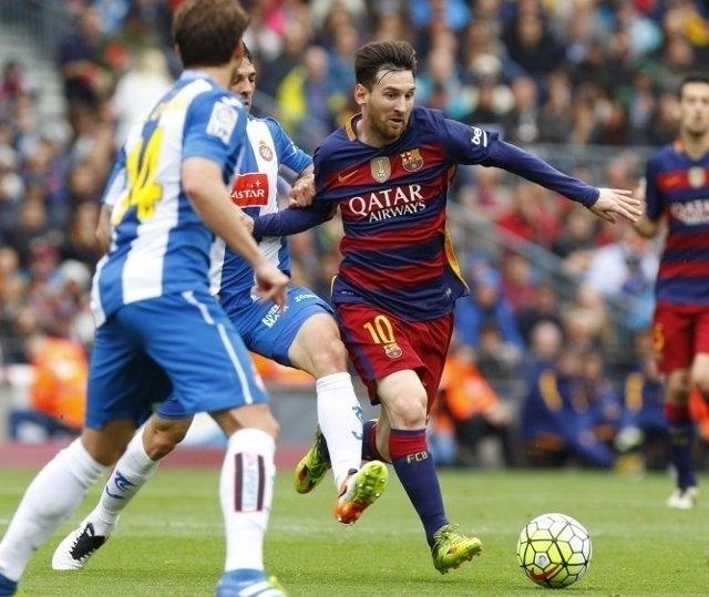 Leo Messi Espanyol Barcelona