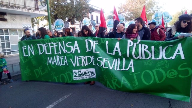 Manifestación por la Educación Pública