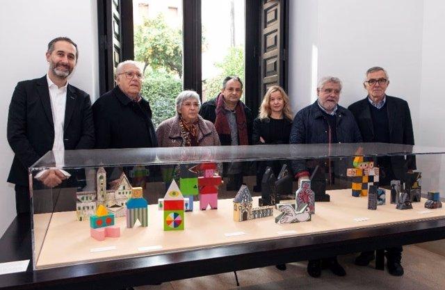 Fábrica de juguetes en el Museo Picasso de Málaga