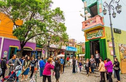La llegada de turistas extranjeros a Argentina crece un 7,2 por ciento en octubre