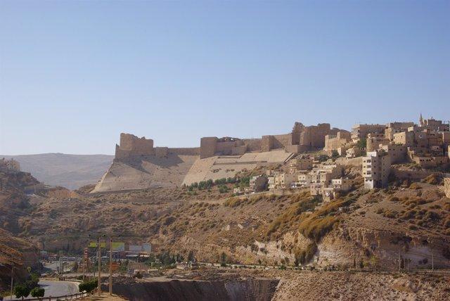 Castillo de Kerak.