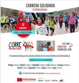 """VI Carrera Solidaria """"Corre Por Una Causa, Corre Por La Educación"""""""