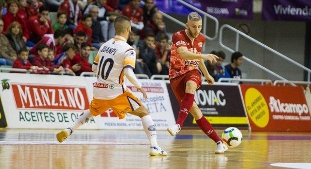 ElPozo Murcia cede un empate ante Plásticos Romero Cartagena