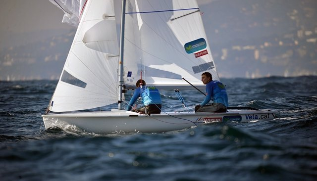 El olímpico Jordi Xammar y Nicolás Rodríguez lideran la Christmas Race