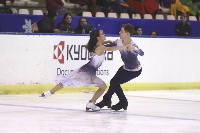 Javier Fernández y Valentina Matos, campeones de España de patinaje