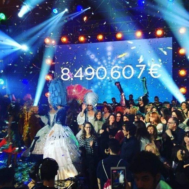 La Marató de TV3 recauda más de 8,9 millones de euros