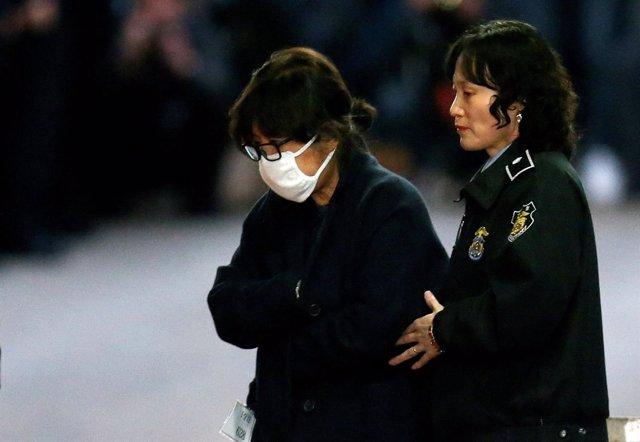 Choi Soon Sil, confidente de la presidenta de Corea del Sur