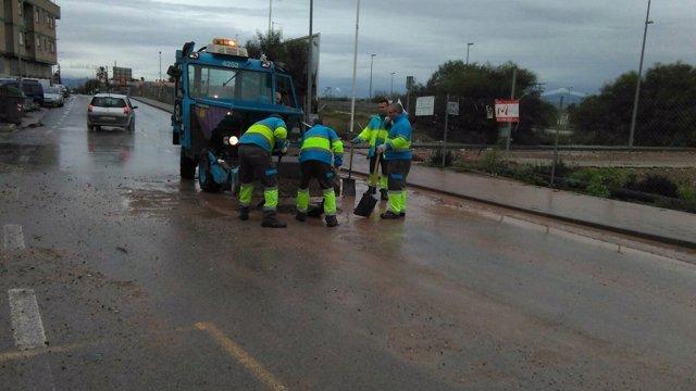 Limpieza carreteras Murcia