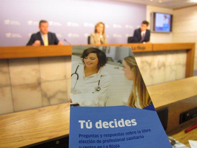 Información Libre elección de médico y centro de salud