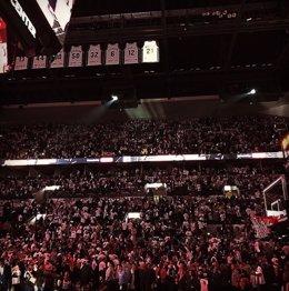 Retirada camiseta 21 Tim Duncan San Antonio Spurs