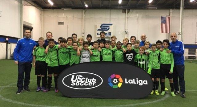 LaLiga y US Club Soccer