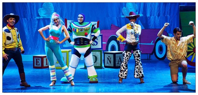 Una imagen del musical