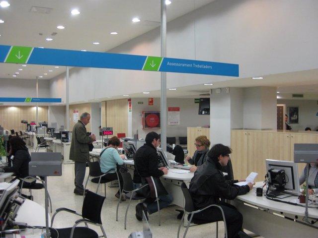 Oficina De Trabajo De La Generalitat (OTG), SOC, Paro
