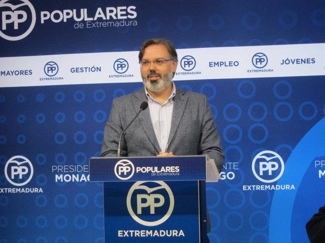 Fernando Pizarro, en rueda de prensa