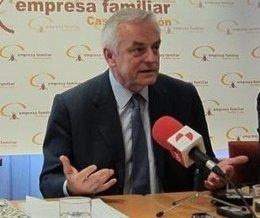 El presidente del Consejo Social de la UVA, Gerardo Gutiérrez