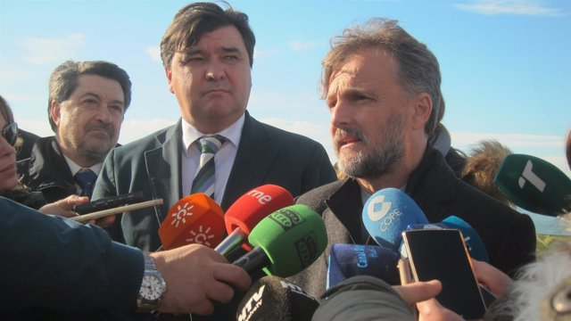 El consejero de Medio Ambiente de la Junta, José Fiscal.