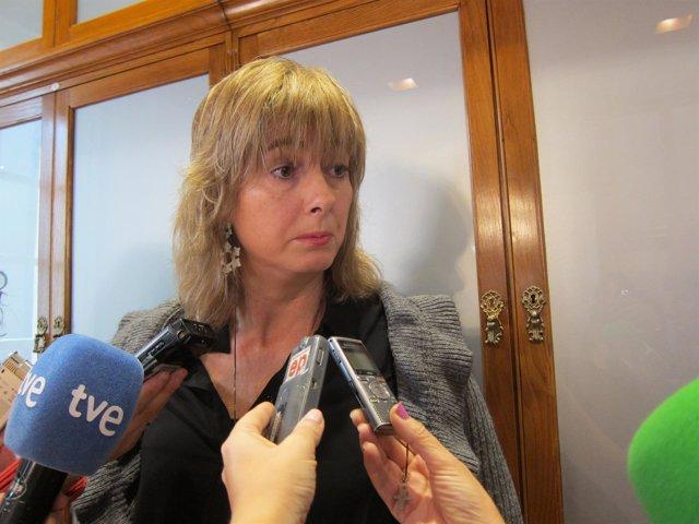 La consejera de Relaciones Ciudadanas e Institucionales, Ana Ollo