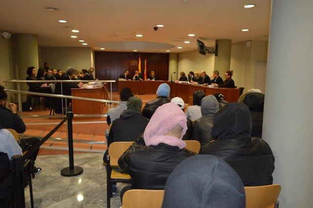 Juicio en Lleida a miembros de la banda de los Trinitarios