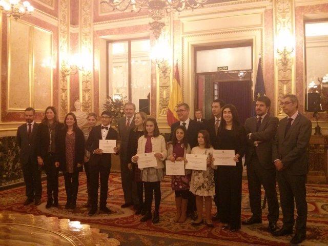 Premiados del Concurso 'Una Constitución para todos' 2016