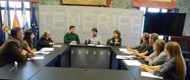 Reunión de 'Barrios por el Empleo'
