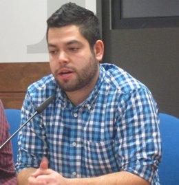 El Concejal De Economía Y Empleo, Rubén Rosón.