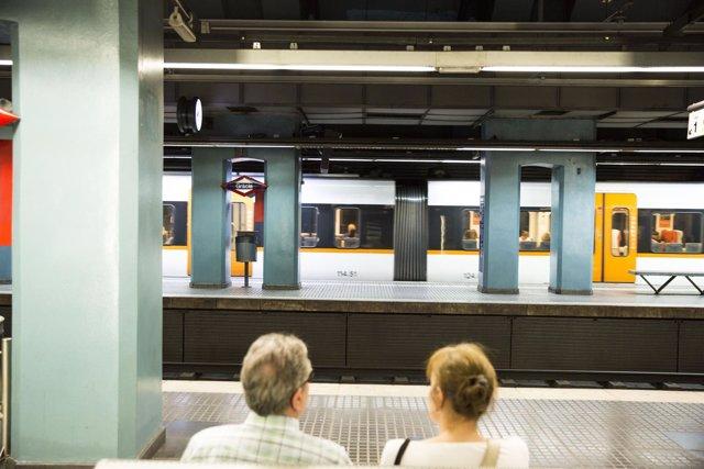 Estación de Gràcia de FGC