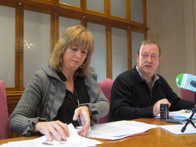 Ana Ollo y Mikel Arregi