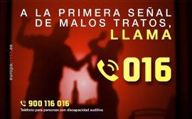 Extremadura presenta una tasa de 12,68 mujeres víctimas de violencia de género por cada 10.000
