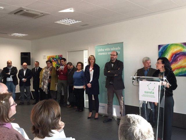 Inauguración Centro Sarela en Santiago