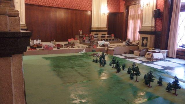 Exposición Clikcs de Playmobil  en el Ateneo