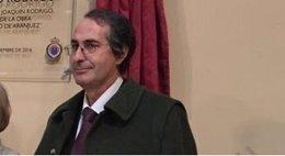 El rector de la URJC, Fernando Suárez