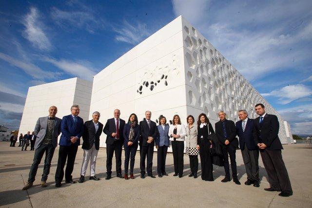 Inauguración del Centro de Creación Contemporánea de Andalucía (C3A),