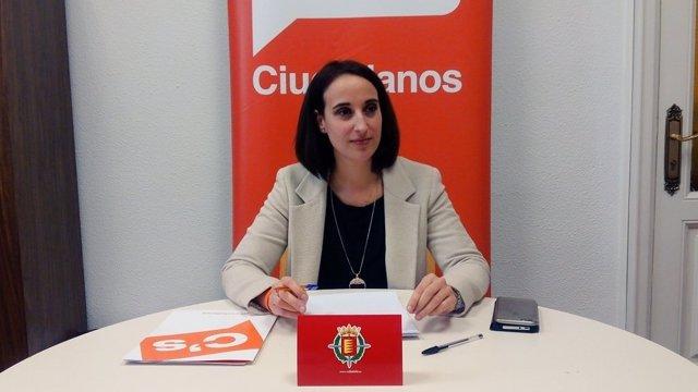 La portavoz de Ciudadanos en el Ayuntamiento, Pilar Vicente