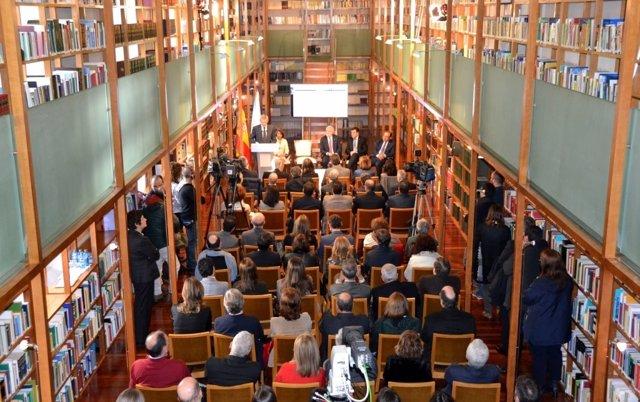 Presentación del portal jurídico Lexgal en el Parlamento de Galicia