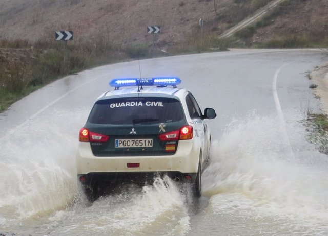 Rescate de la Guardia Civil, inundaciones, lluvias