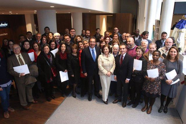 Firma del convenio con 33 entidades en la Convocatoria Andalucía 2016