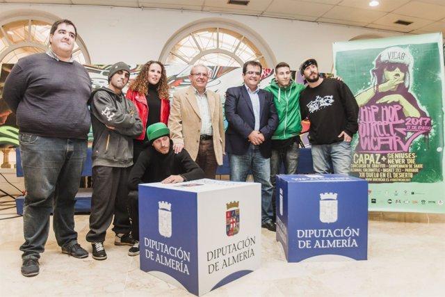 Centenares de jóvenes de toda España participarán en el 'Hip Hop Street'.