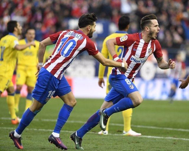 Saúl Ñíguez Yannick Carrasco Atlético Las Palmas