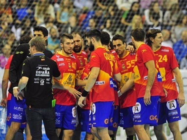 Hispanos selección española balonmano masculino